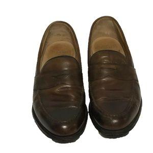 Joseph Cheaney & Sons Slip-On Loafer Shoes SZ 7.5